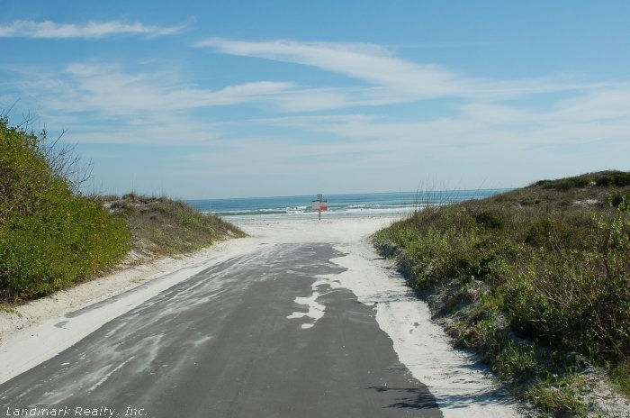 Anastasia state park is just north of St. Augustine Beach. Anastasia state park is a protected sanctuary with over 1600 acres.