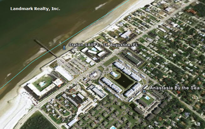 Anastasia by the Sea Condos are located in St. Augustine Beach, Florida, less than two blocks from the beach.