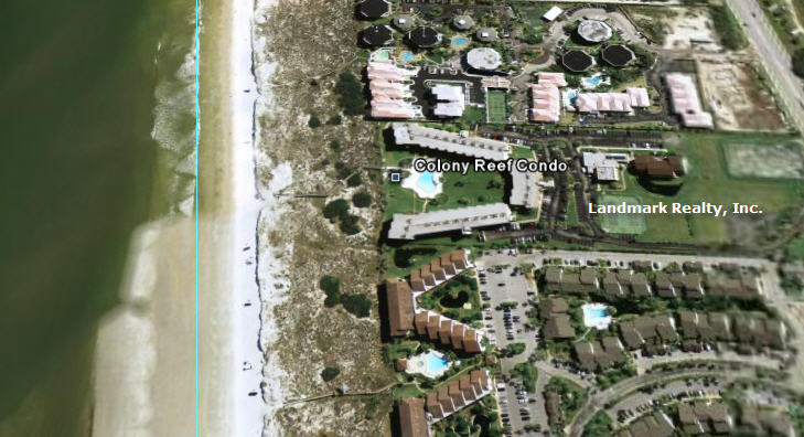Colony Reef Condos are located between Crescent Beach and St. Augustine Beach, Florida.