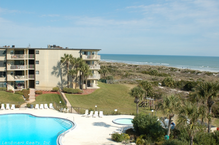 From the direct oceanfront condos you can see from the pier at Saint Augustine Beach, to the end of Crescent Beach.
