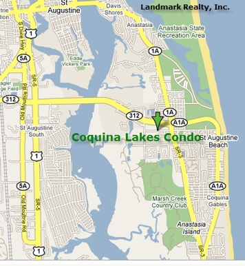 Coquina Lakes Condo Map