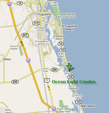 Ocean Eight Condo Map