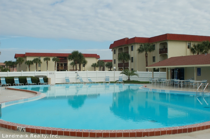 Amenities offered at Ocean and Racquet Condos: Two outdoor pools, one heated during the winter.