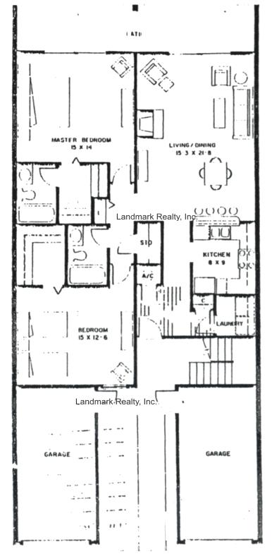 Floor Plan Sea Winds Condos Two Bedroom Flats In St