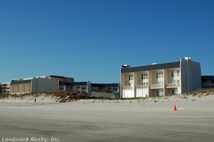 Click here to enlarge the picture of Tradewinds Condos from the ocean