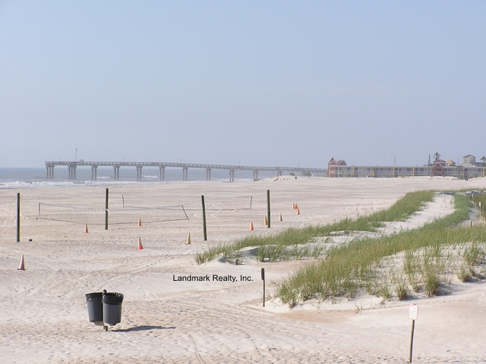 The St. Johns County Ocean Pier is directly across the street from Seaside of Anastasia Condo.